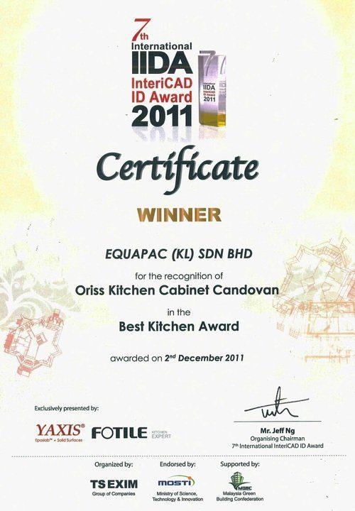 Oriss Kitchen Cert 01