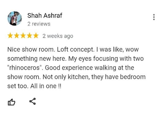 Oriss Kitchen Happy Customer 1