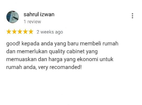 Oriss Kitchen Happy Customer 9